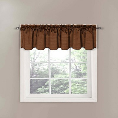 "21""x42"" Thermaback Canova Room Darkening Window Valance - Eclipse"