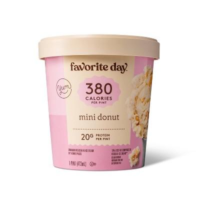 Reduced Fat Mini Donut Ice Cream - 16oz - Favorite Day™