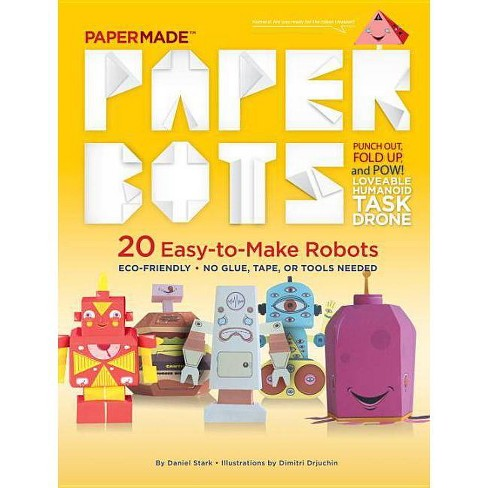 Paper Bots - by  Papermade (Paperback) - image 1 of 1