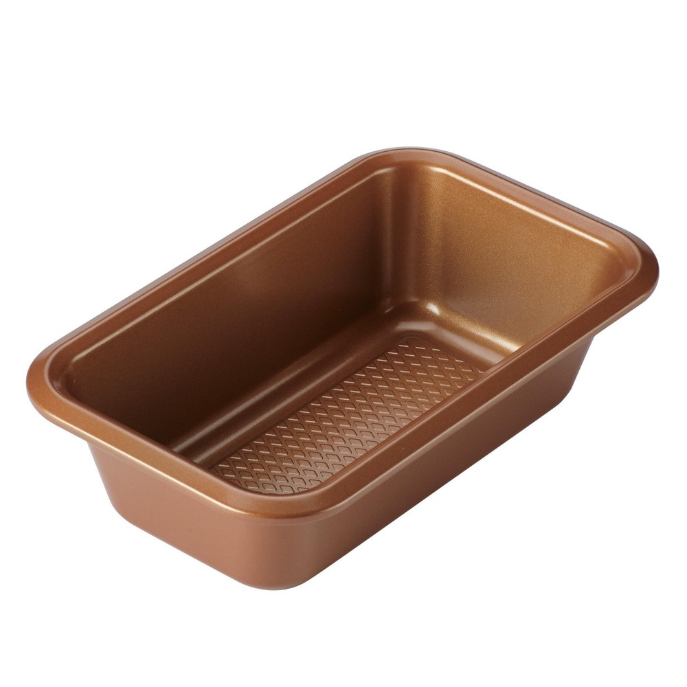 """Image of """"Ayesha Curry 9"""""""" x 5"""""""" Bakeware Loaf Pan Copper, Brown"""""""