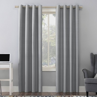 Duran Thermal Insulated 100% Blackout Grommet Curtain Panel - Sun Zero