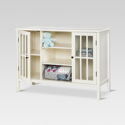 Superieur Windham 2 Door Cabinet With Shelves   Threshold™ : Target