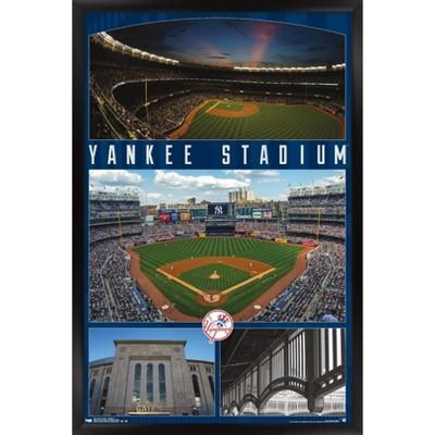 Trends International MLB New York Yankees - Stadium 16 Framed Wall Poster Prints