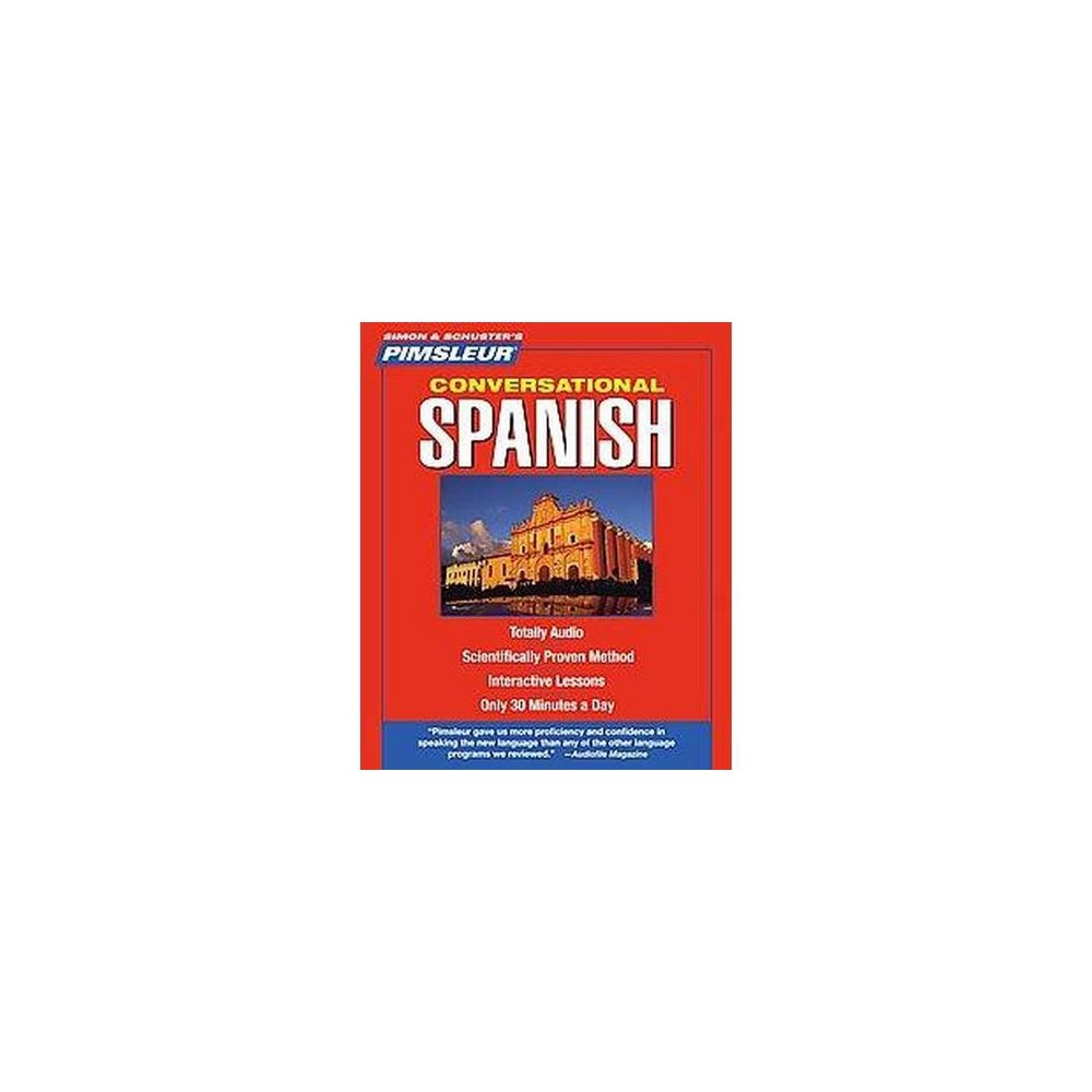 Pimsleur Conversational Spanish (CD/Spoken Word)