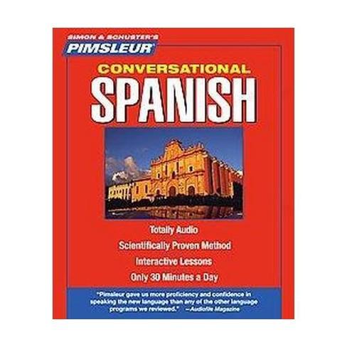 Pimsleur Conversational Spanish Cdspoken Word Target