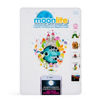 Moonlite - Special Edition Eric Carle Gift Pack, Storybook Projector for Smartphones with 5 Story Reels, for Ages 1 and Up