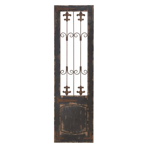 Wood With Metal Decorative Wall Art 57 X 16 - Olivia & May - image 1 of 2