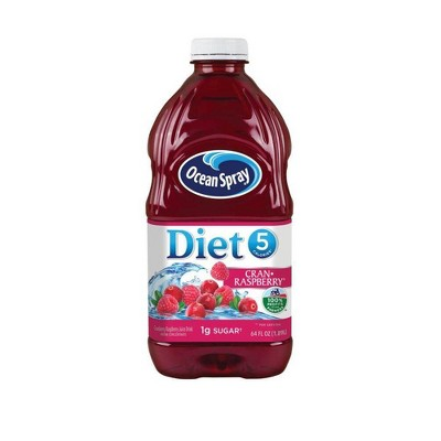 Ocean Spray Diet Cran Raspberry Juice - 64 fl oz Bottle