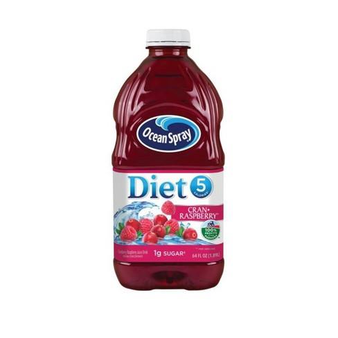 Ocean Spray Diet Cran Raspberry Juice - 64 fl oz Bottle - image 1 of 3