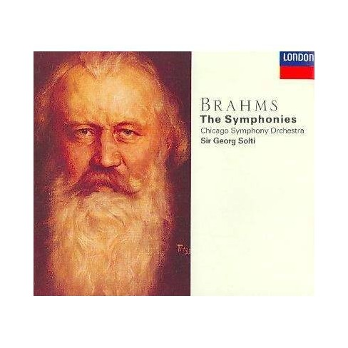 Solti; Chicago Symphony Orchestra - Brahms:Syms. 1-4 (CD) - image 1 of 1