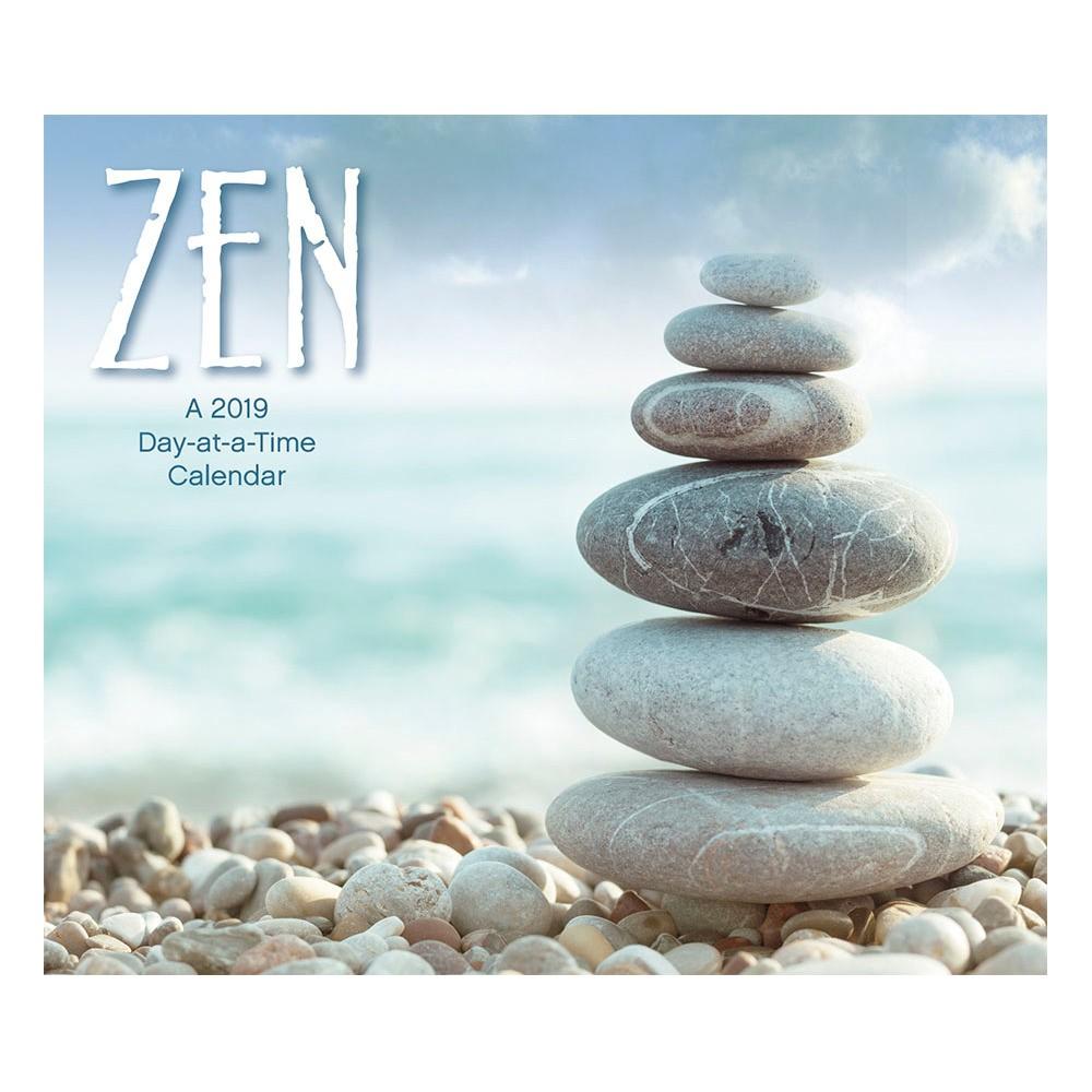 2019 Tented Desktop Calendar Zen - Trends International, Multi-Colored