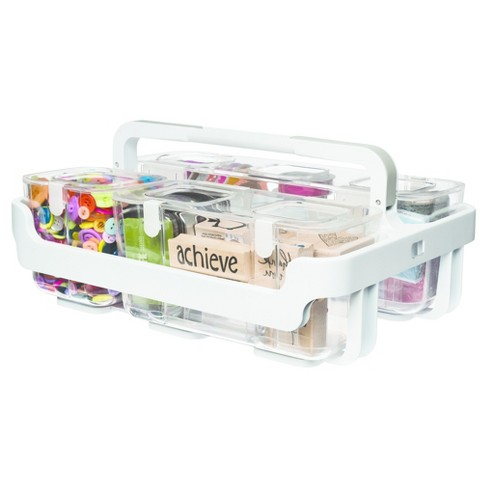 Deflecto® Stackable Caddy Organizer - Clear : Target