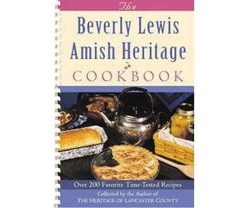 Beverly Lewis Amish Heritage Cookbook (Paperback) - image 1 of 1