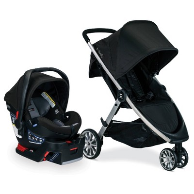 Britax B-Lively And B-Safe Ultra Travel System - Noir