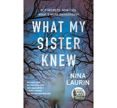 What My Sister Knew -  by Nina Laurin (Paperback) - image 1 of 1