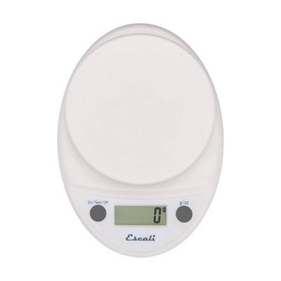 Escali Primo Digital Kitchen Scale White