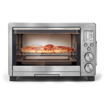 Crux 6 Slice Digital Air Fryer Toaster Oven