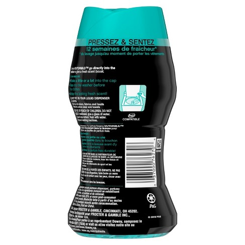 downy unstopables in wash fresh scented booster target