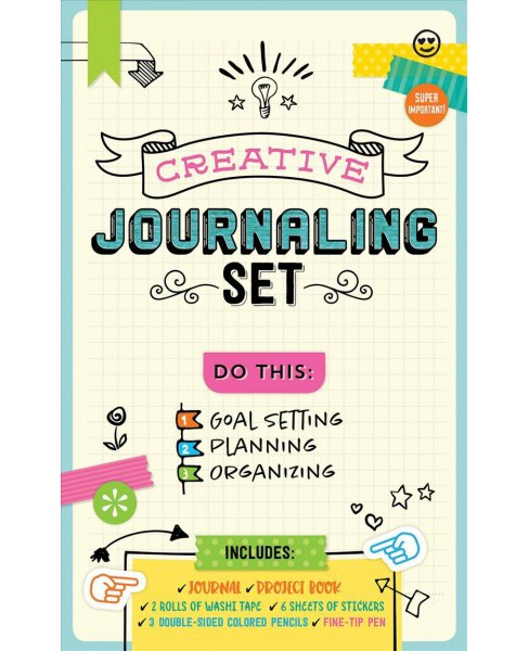 Creative Journaling Set -  (Hardcover) - image 1 of 1