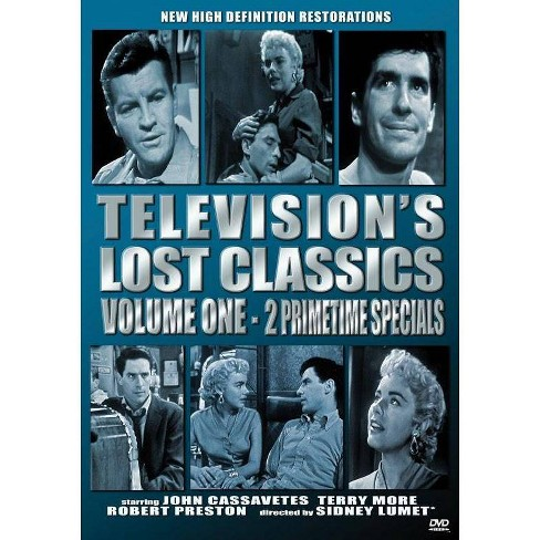 Television's Lost Classics Volume 1 (DVD)(2018) - image 1 of 1