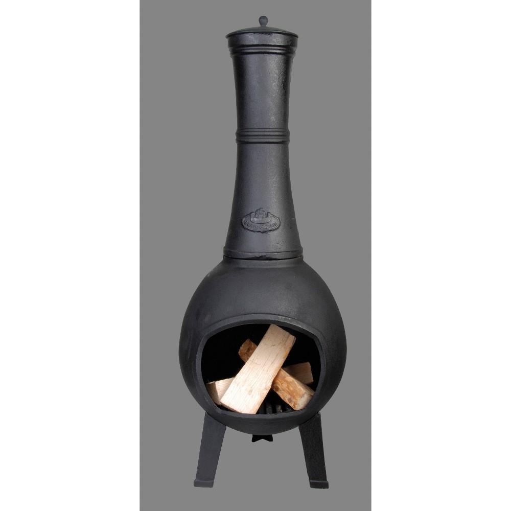 Image of Small Cast Iron Terrace Heater Black - Esschert Design