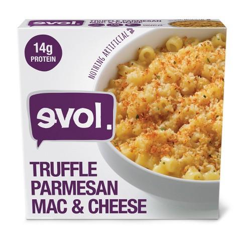 Evol  Frozen Truffle Parmesan Macaroni and Cheese Bowl - 8oz - image 1 of 2