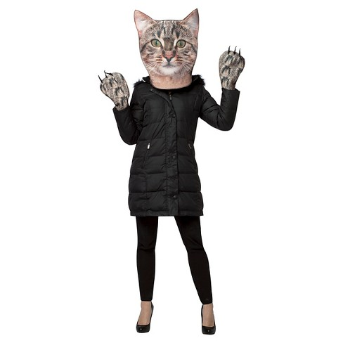 Kitty Kit Head and paws Adult Costume - One Size Fits Most - image 1 of 1