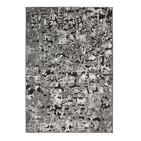 Abacasa Napa Axel Black-Grey-and Ivory 8x11 Area Rug - Sam's International - image 1 of 1