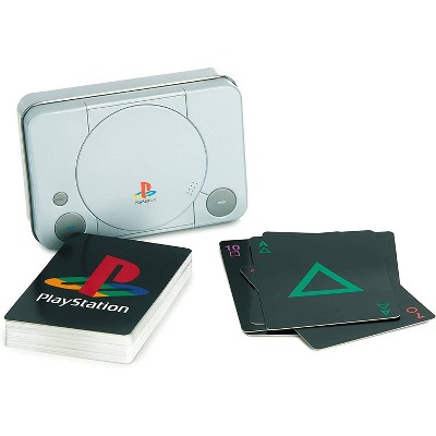 PlayStation Playing Cards with Collectible Tin