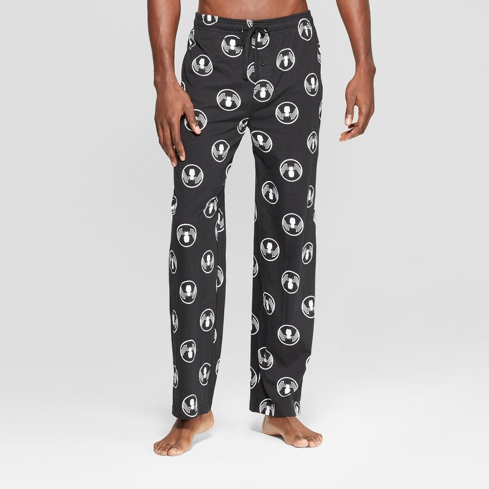 Men's Marvel Vemon Novelty Pajama Pants - Black S