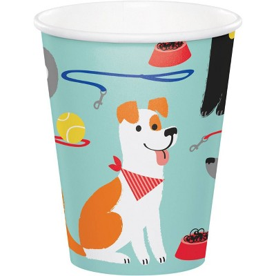 24ct Dog Print Party Cups