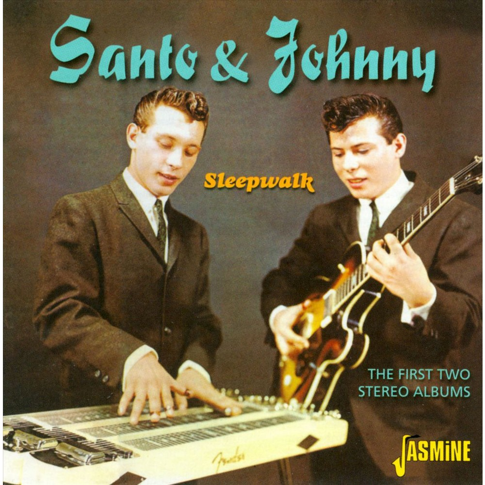 Santo and johnny - First two stereo albums (CD)