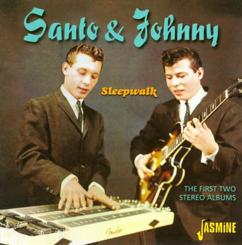 Santo and johnny - First two stereo albums (CD) - image 1 of 1