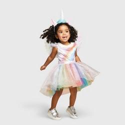 Toddler Rainbow Unicorn Halloween Costume - Hyde & EEK! Boutique™