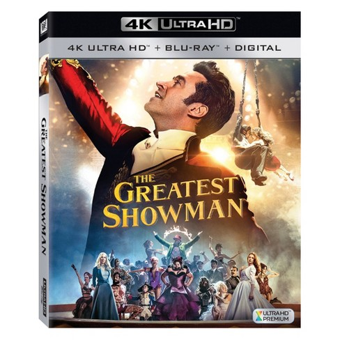 The Greatest Showman (4K/UHD + Blu-ray + Digital) - image 1 of 1