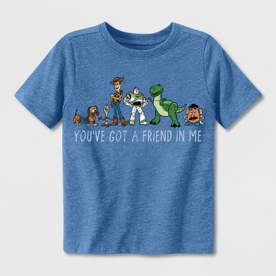 Toddler Boys' Toy Story Chase T-Shirt - Blue