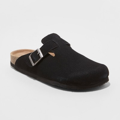 Women's Mad Love Tina Microsuede Slip On Clogs - Black 6