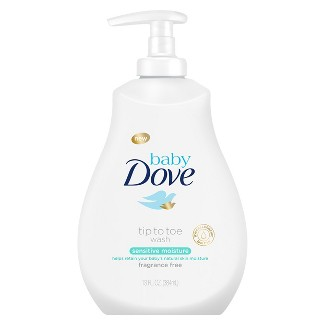 Baby Dove Sensitive Moisture Tip-to-Toe Wash - 13oz