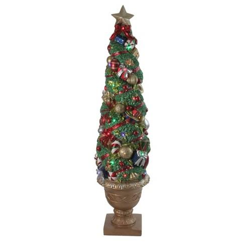 Northlight 5 Prelit Artificial Christmas Tree Fiber Optic Led