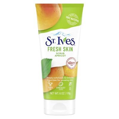 Facial Cleanser: St. Ives Fresh Skin Scrub