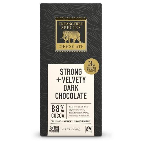 Endangered Species Chocolate Natural Dark Chocolate - 3oz - image 1 of 4