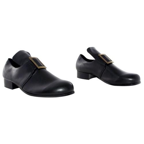 Halloween Adult Samuel Shoes Black Medium Costume, Men's