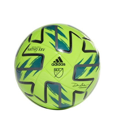 Adidas MLS Glider Size 3 Soccer Ball - Green/Black