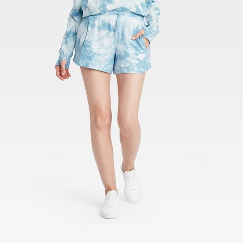 """Women's High-Rise French Terry Shorts 3.5"""" - All in Motion™ - image 1 of 4"""