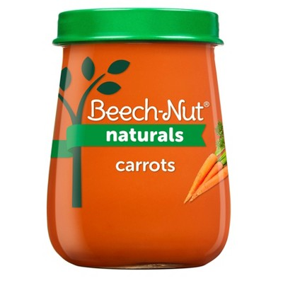 Beech-Nut Naturals Carrots Baby Food Jar - 4oz