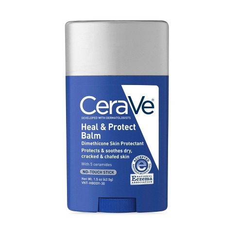 CeraVe Heal and Protect Balm, No-Touch Stick - 1.5oz - image 1 of 2
