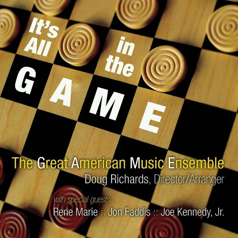 Great American Music EnsembleGreat American Music Ensemble - IT'S ALL IN THE GAME (CD) - image 1 of 1