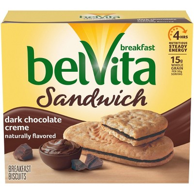 belVita Dark Chocolate Crème Breakfast Biscuits - 5 Packs