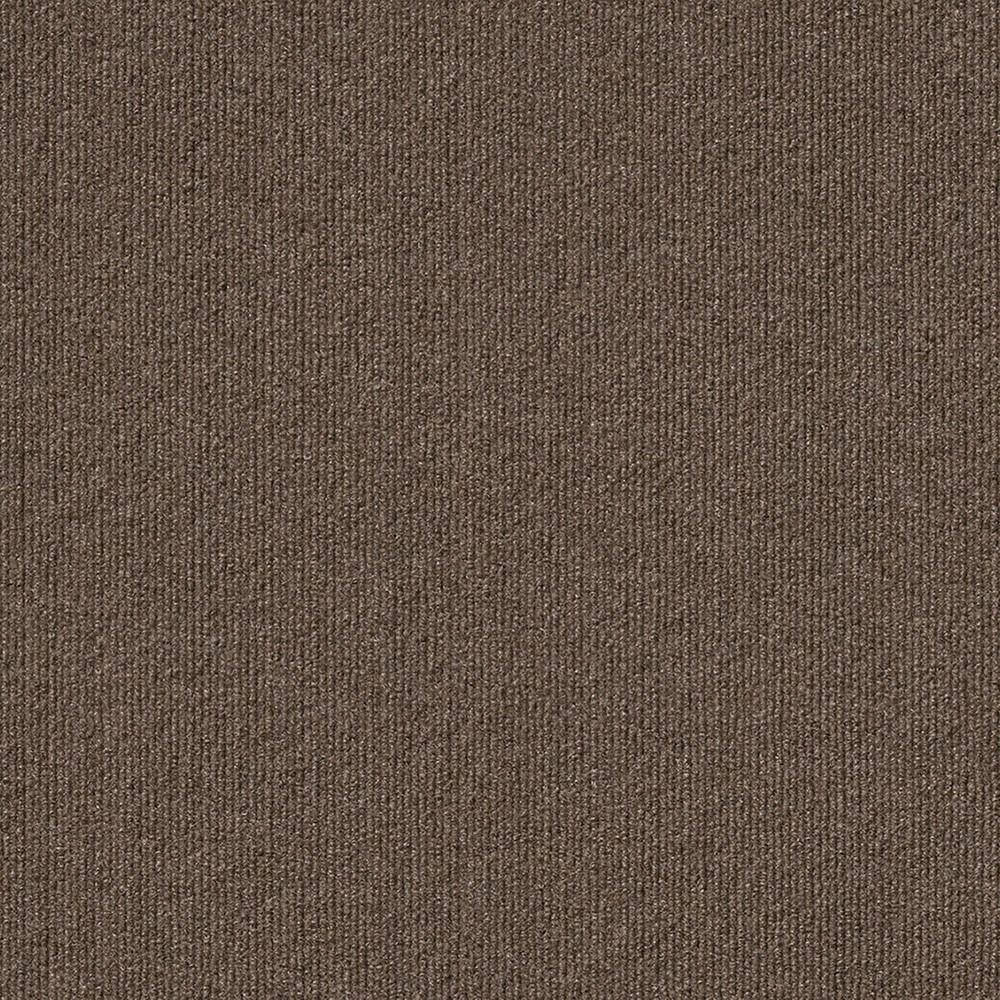 16pk Rib Carpet Tiles Espresso