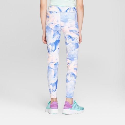 4a23d7da8619 Girls  Performance Leggings - C9 Champion® Blue Canyon Wash Print M ...